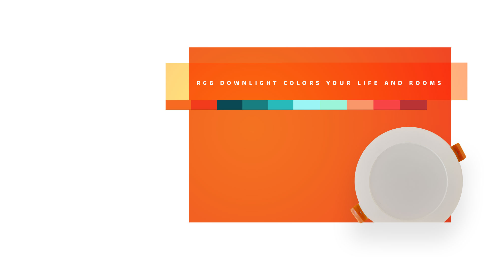 Smart home Lvmina Co® WiFi RGB LED downlight